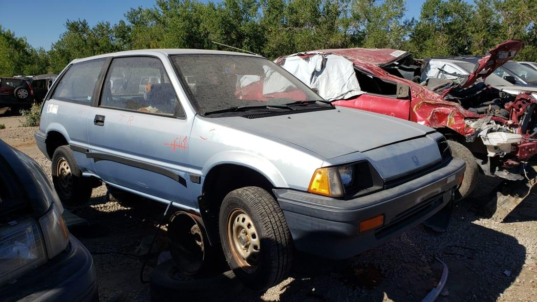 51 - 1984 Honda Civic 1300 Hatcback in Colorado junkyard - Photo by Murilee Martin