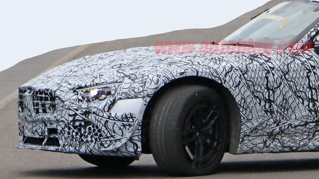 Mercedes-Benz SL-Class spied