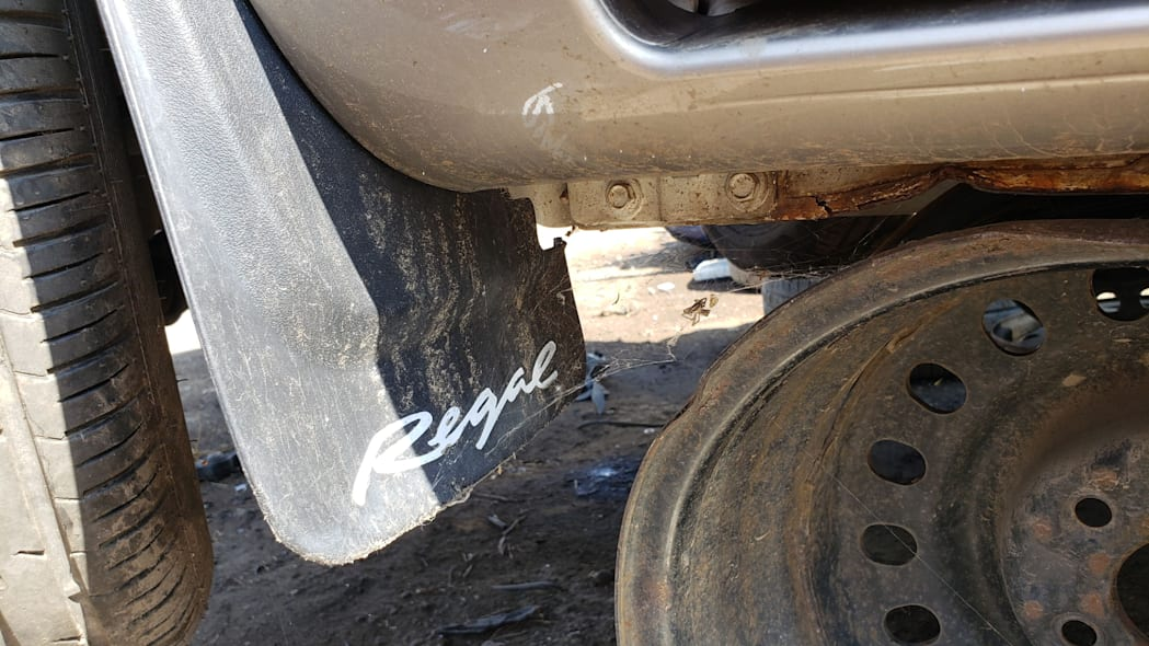18 - 2002 Buick Regal Joseph Abboud Edition in Colorado junkyard - Photo by Murilee Martin