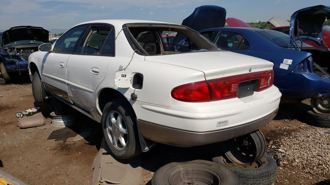 47 - 2002 Buick Regal Joseph Abboud Edition in Colorado junkyard - Photo by Murilee Martin