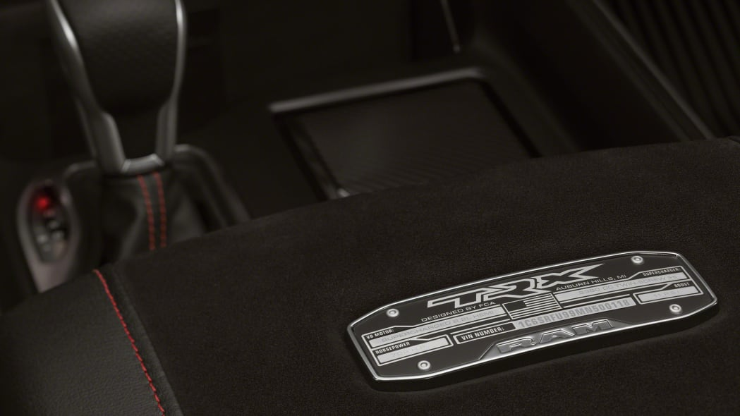 2021 Ram 1500 TRX center console plate