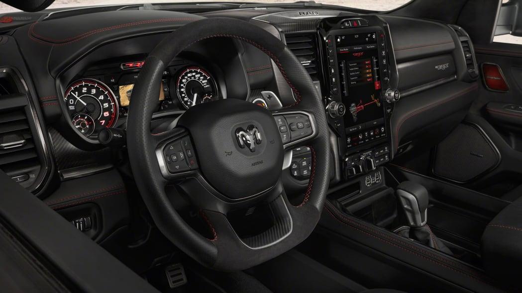 2021 Ram 1500 TRX steering wheel