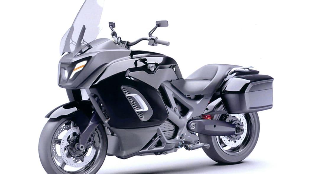 Aurus motorcycle patent images