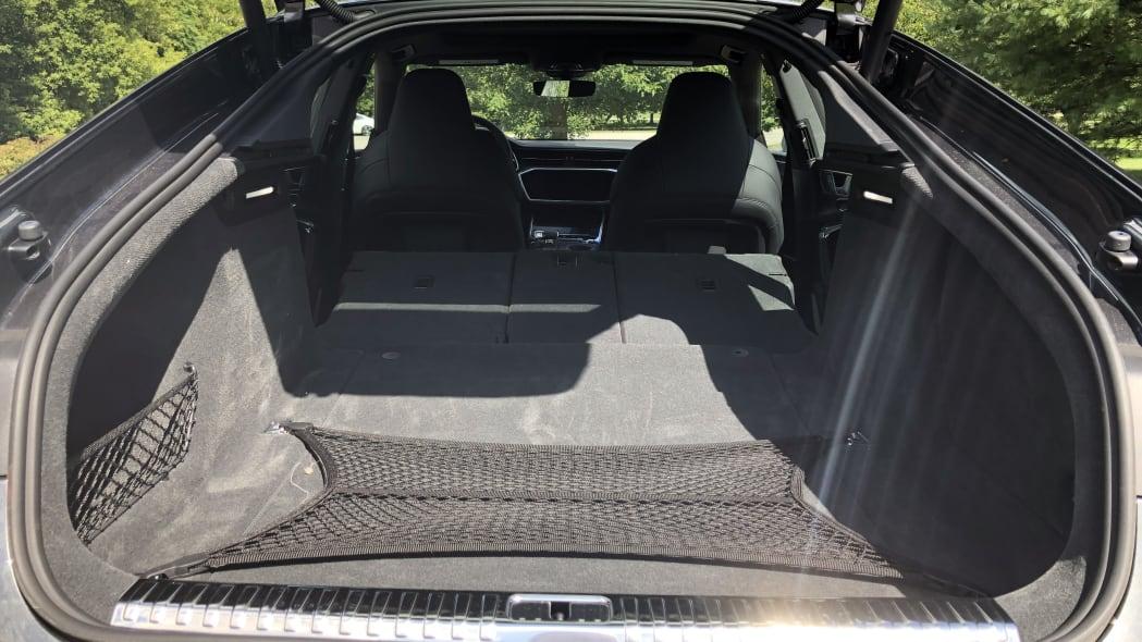 2020 Audi S7 luggage test