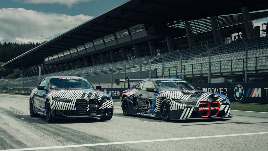 2021 BMW M4 and M4 GTE