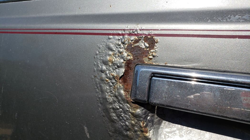 07 - 1988 Subaru GL Sedan in Colorado junkyard - photo by Murilee Martin