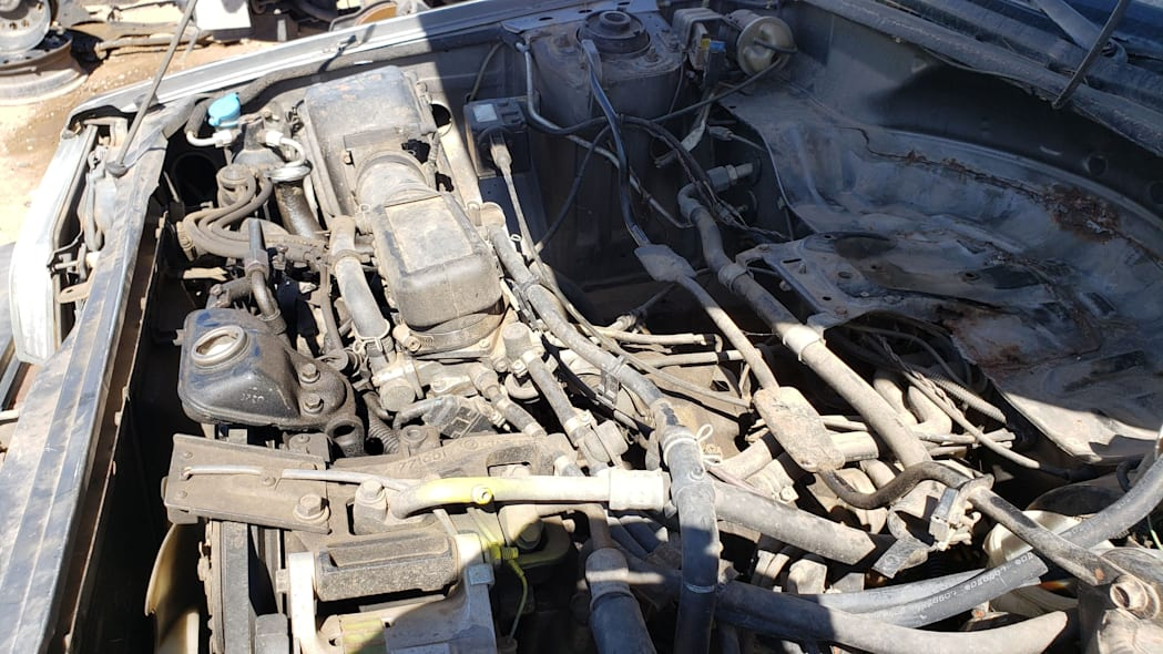30 - 1988 Subaru GL Sedan in Colorado junkyard - photo by Murilee Martin