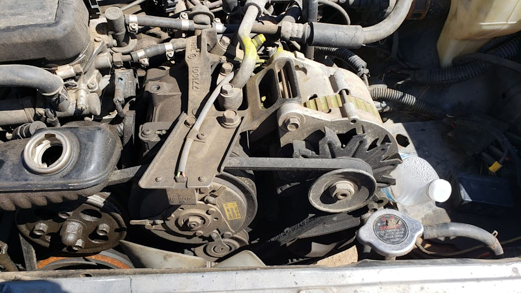 33 - 1988 Subaru GL Sedan in Colorado junkyard - photo by Murilee Martin