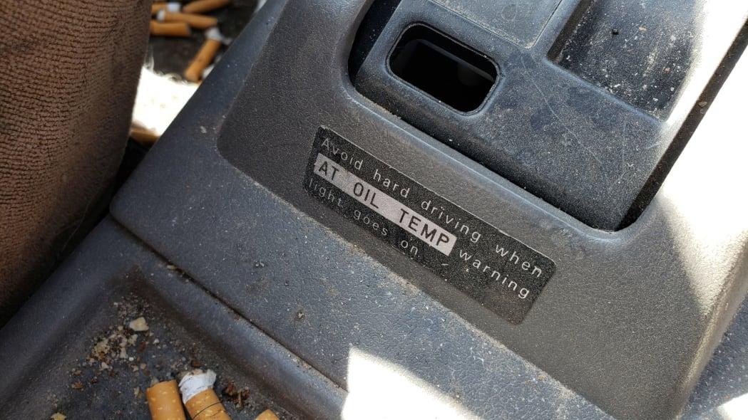 45 - 1988 Subaru GL Sedan in Colorado junkyard - photo by Murilee Martin