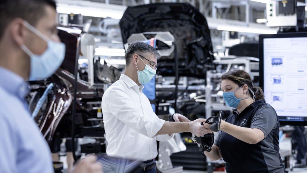 2021 Mercedes-Benz S-Class production