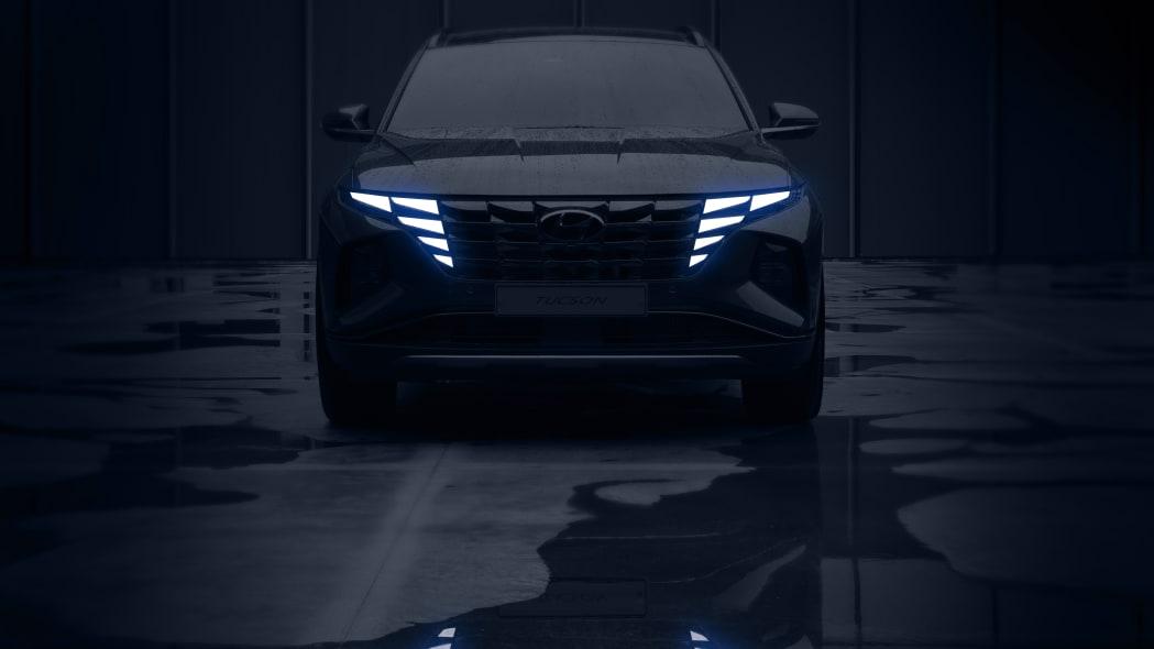 Next-gen Hyundai Tucson teased