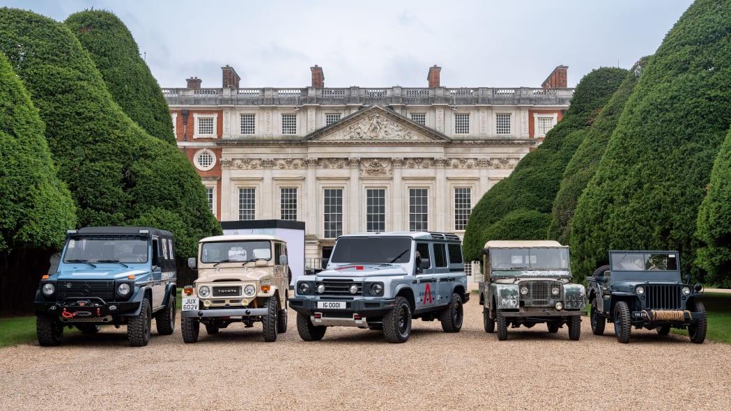 Ineos Grenadier at Hampton Court Palace