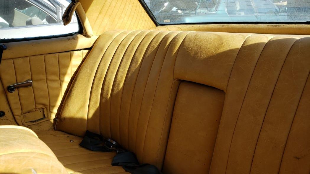 12 - 1973 Mercedes-Benz W114 in California junkyard - photo by Murilee Martin