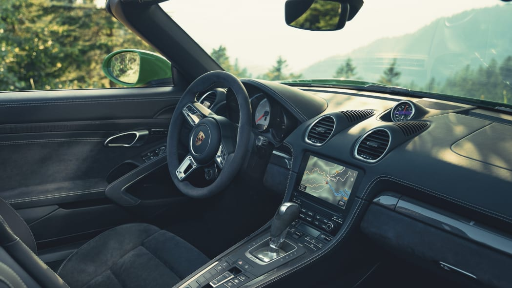 Porsche 718 with PDK transmission
