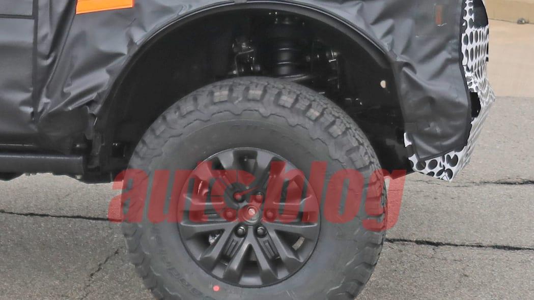 Ford Bronco Raptor spy photo