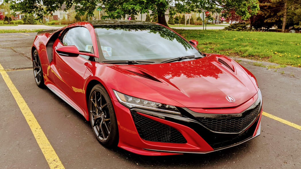 2020 Acura NSX parked
