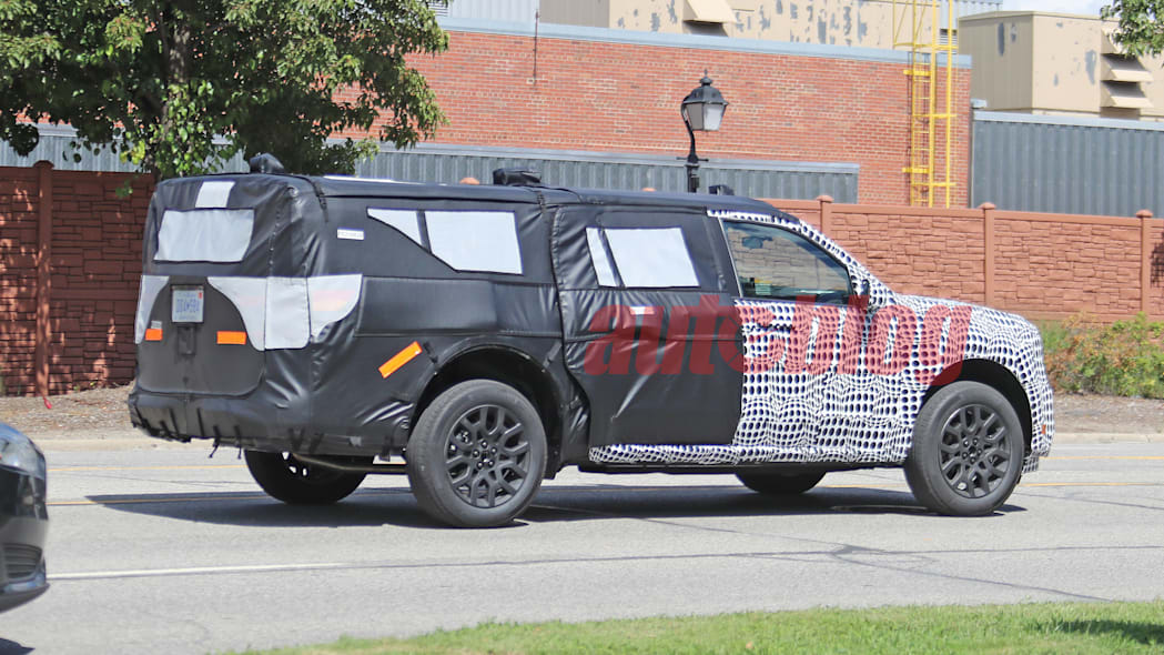 Ford Maverick prototype spy photos