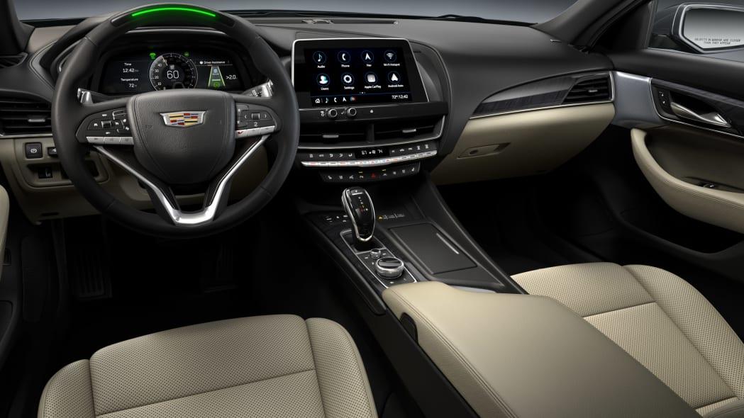 2021 Cadillac CT4 and CT5