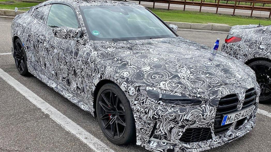 BMW M4 GTS spied