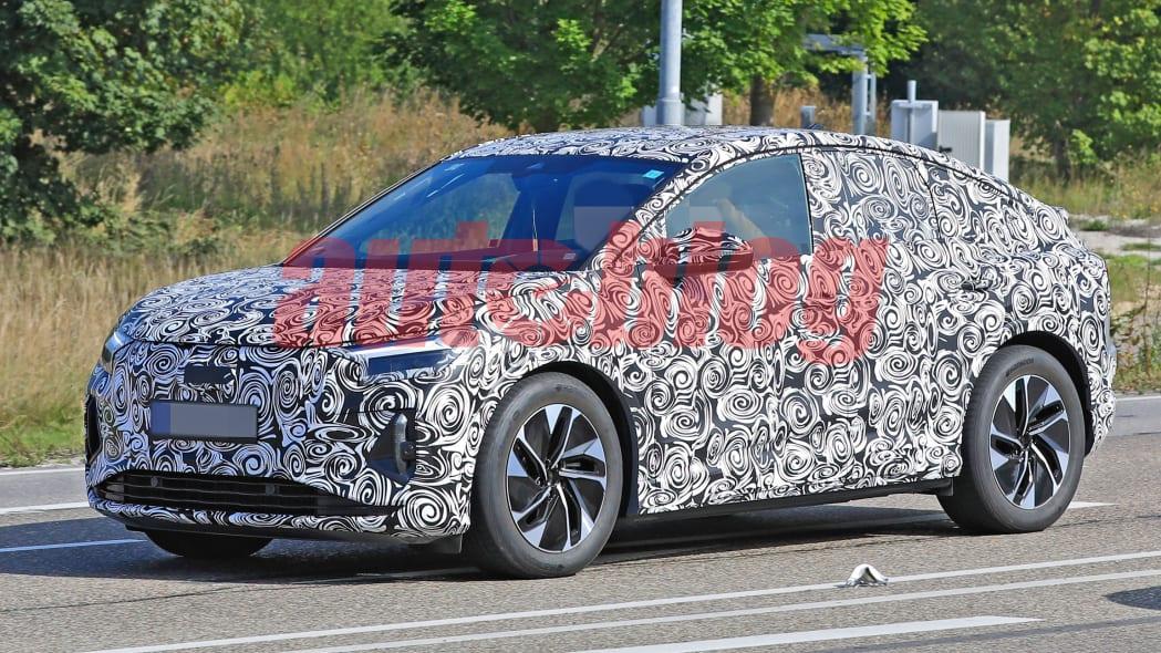 Audi Q4 Sportback E-Tron spy photos