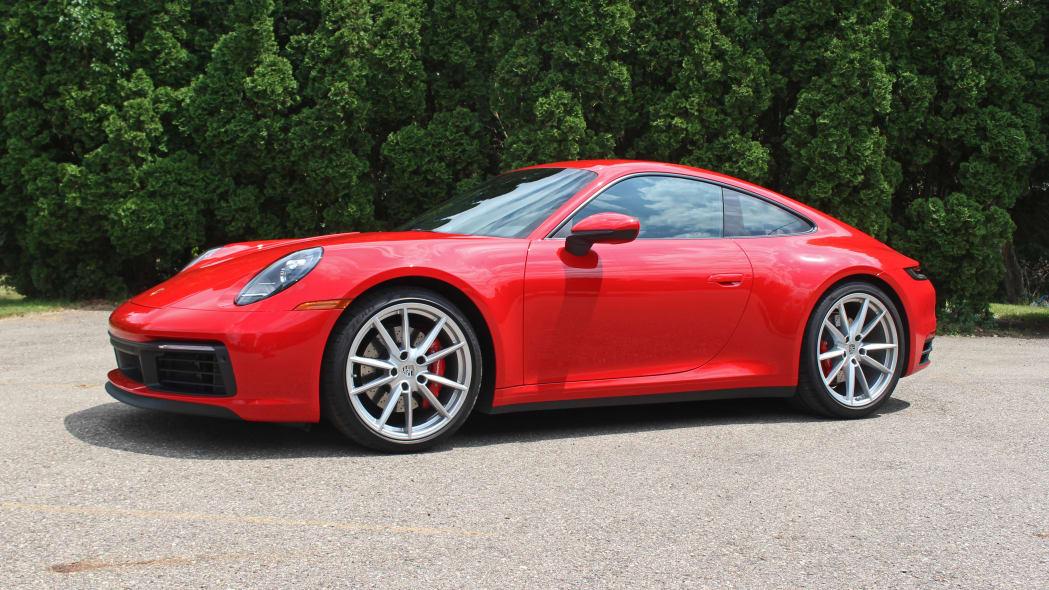2020 Porsche 911 Carrera S manual