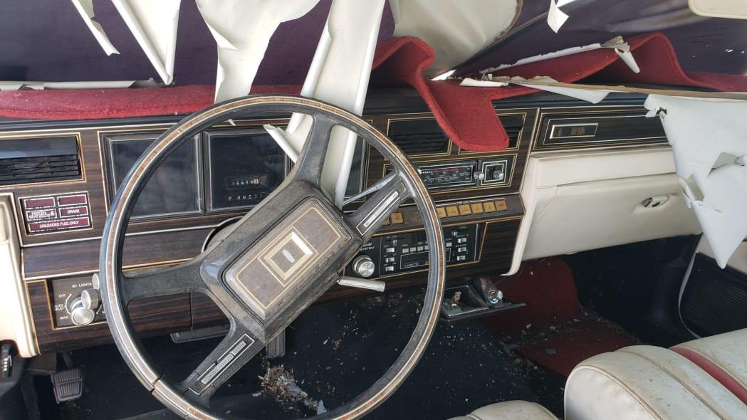 16 - 1982 Lincoln Continental Mark VI Bill Blass in Colorado junkyard - photo by Murilee Martin