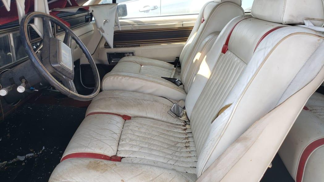 24 - 1982 Lincoln Continental Mark VI Bill Blass in Colorado junkyard - photo by Murilee Martin