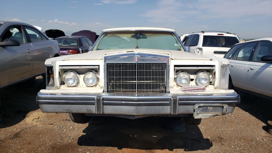 36 - 1982 Lincoln Continental Mark VI Bill Blass in Colorado junkyard - photo by Murilee Martin