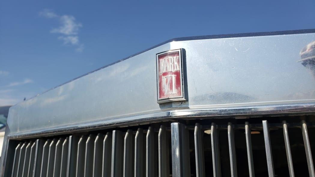 40 - 1982 Lincoln Continental Mark VI Bill Blass in Colorado junkyard - photo by Murilee Martin
