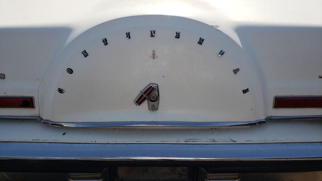 60 - 1982 Lincoln Continental Mark VI Bill Blass in Colorado junkyard - photo by Murilee Martin