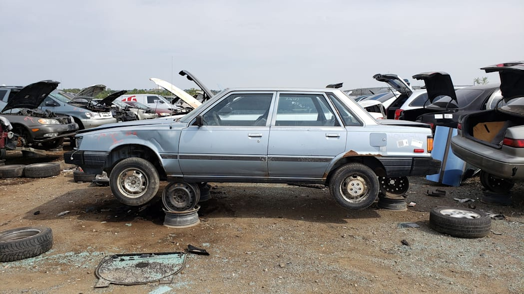 00 - 1983 Toyota Camry in Colorado junkyard - photo by Murilee Martin