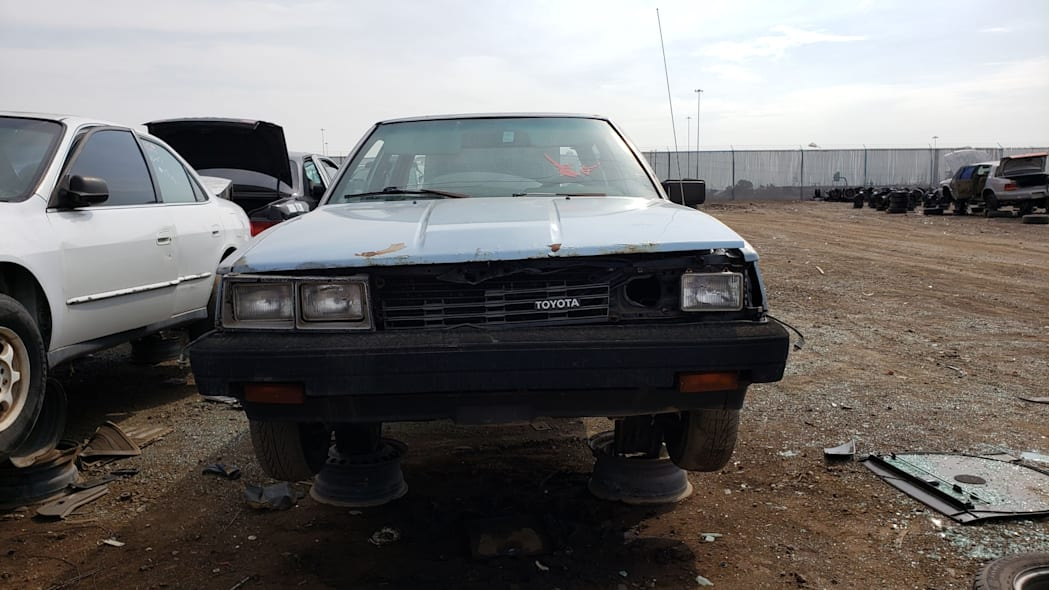 38 - 1983 Toyota Camry in Colorado junkyard - photo by Murilee Martin