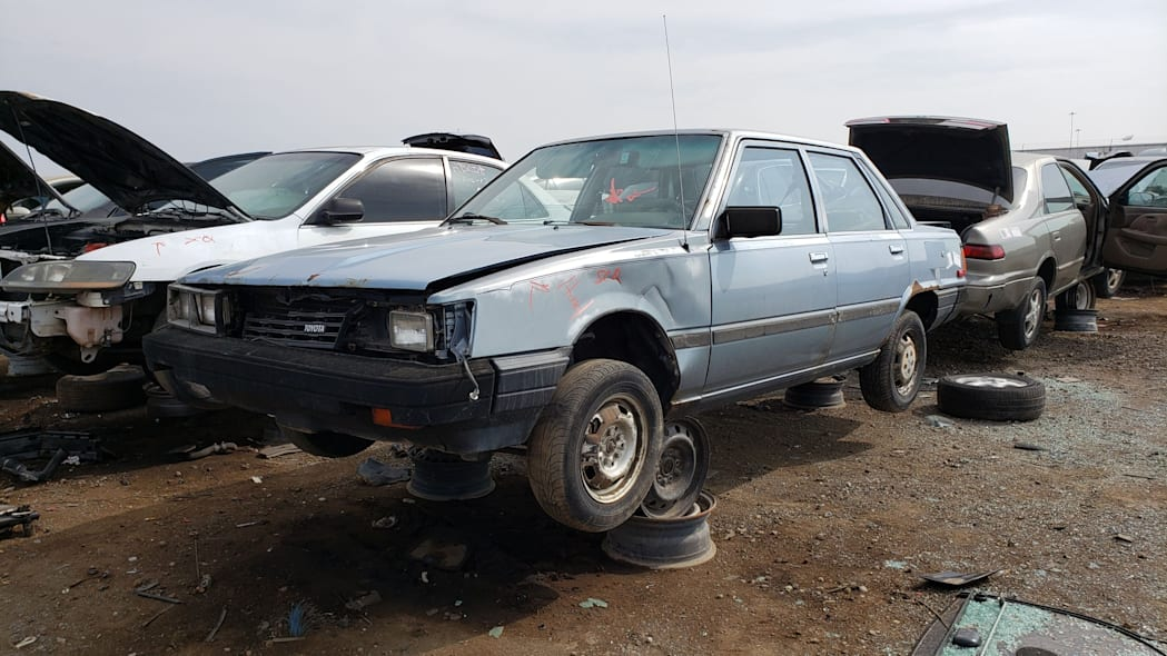 39 - 1983 Toyota Camry in Colorado junkyard - photo by Murilee Martin