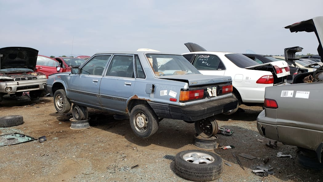 43 - 1983 Toyota Camry in Colorado junkyard - photo by Murilee Martin