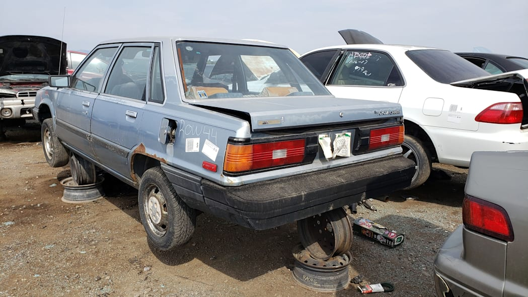 45 - 1983 Toyota Camry in Colorado junkyard - photo by Murilee Martin