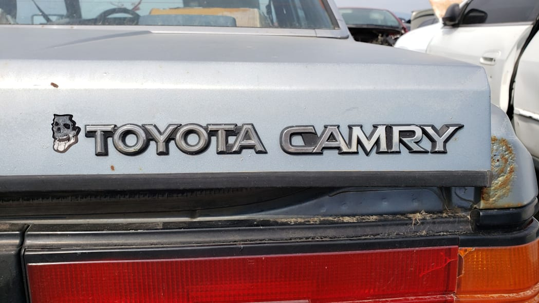 48 - 1983 Toyota Camry in Colorado junkyard - photo by Murilee Martin