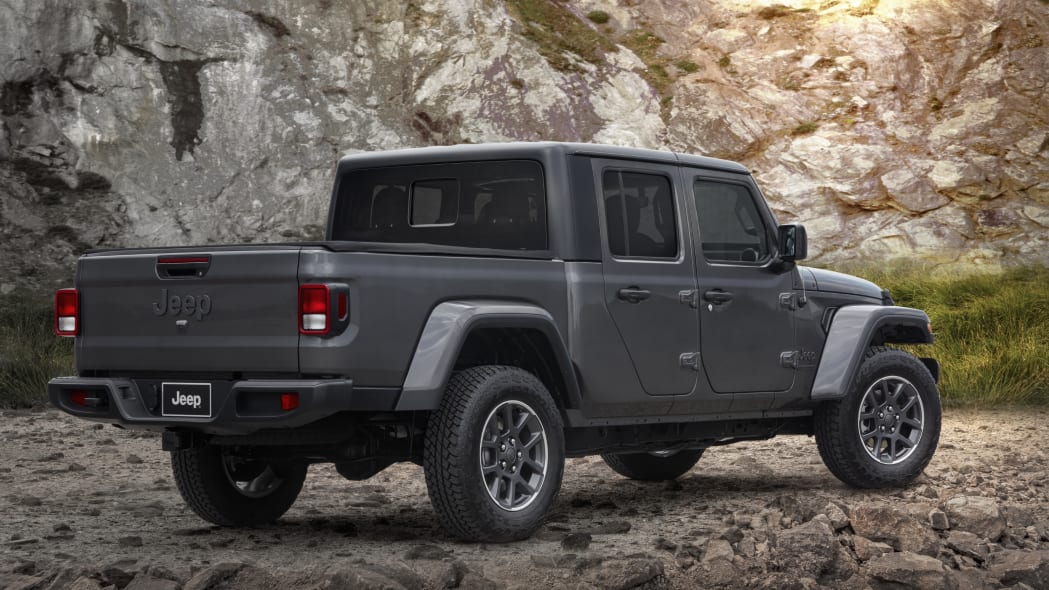 2021 Jeep Gladiator 80th Anniversary Edition.