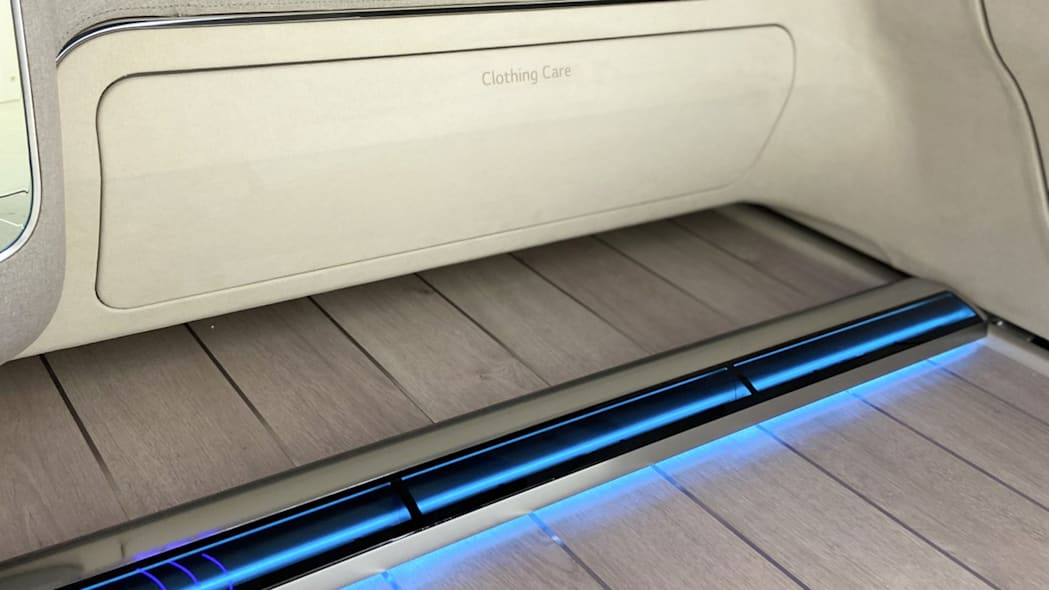 Hyundai LG Ioniq interior concept