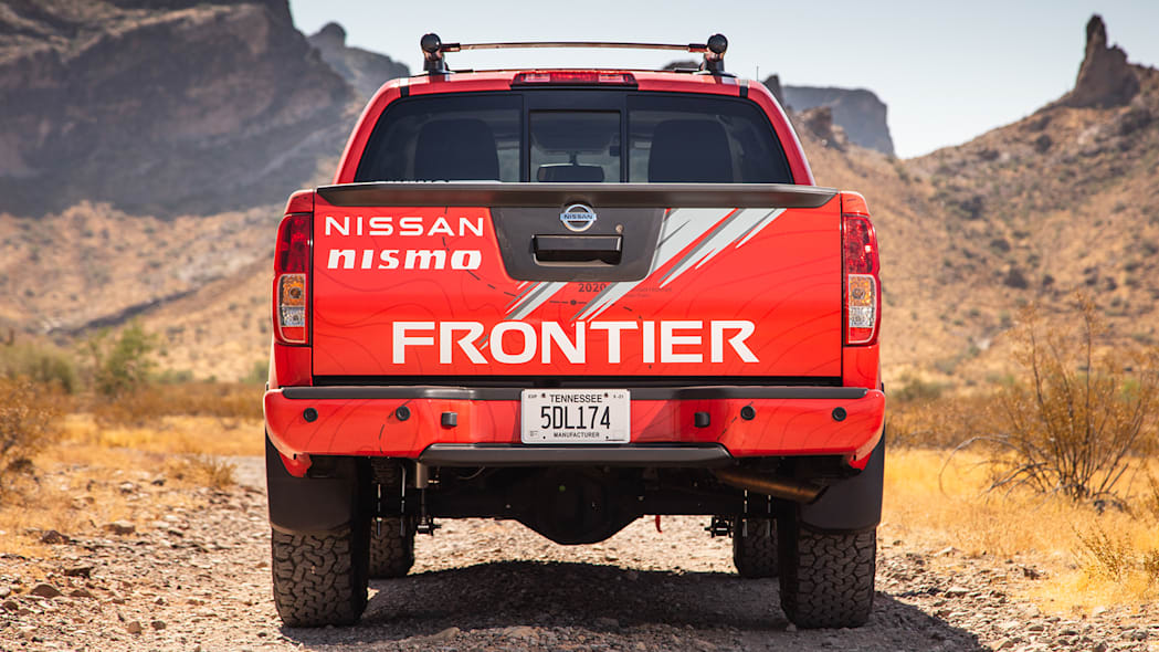 2020 Nissan Frontier with Nismo parts
