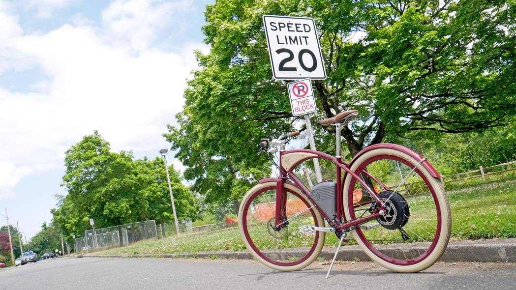 Vintage Electric Cafe speed limit