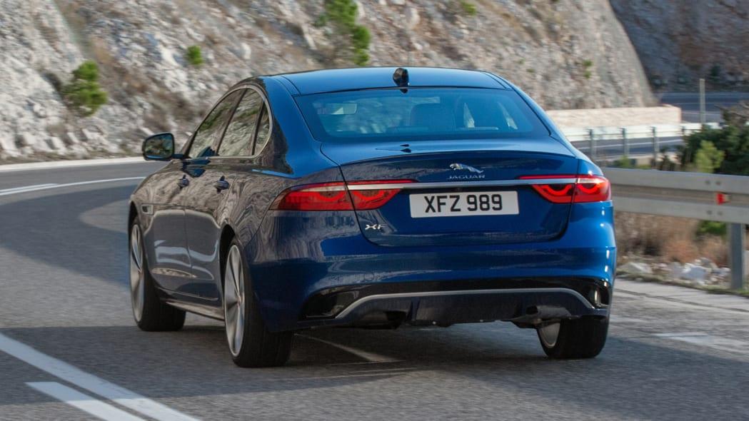 2021 jaguar xf adds new interior, subtracts six-cylinder