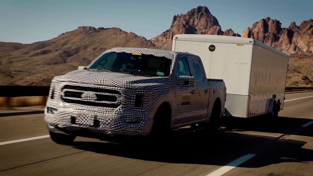 2021 Ford F-150 PowerBoost torture testing