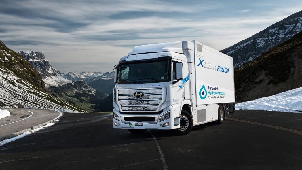 Hyundai Xcient Fuel Cell truck