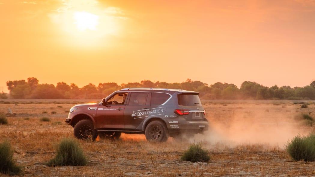 2021 Infiniti QX80 for Rebelle Rally