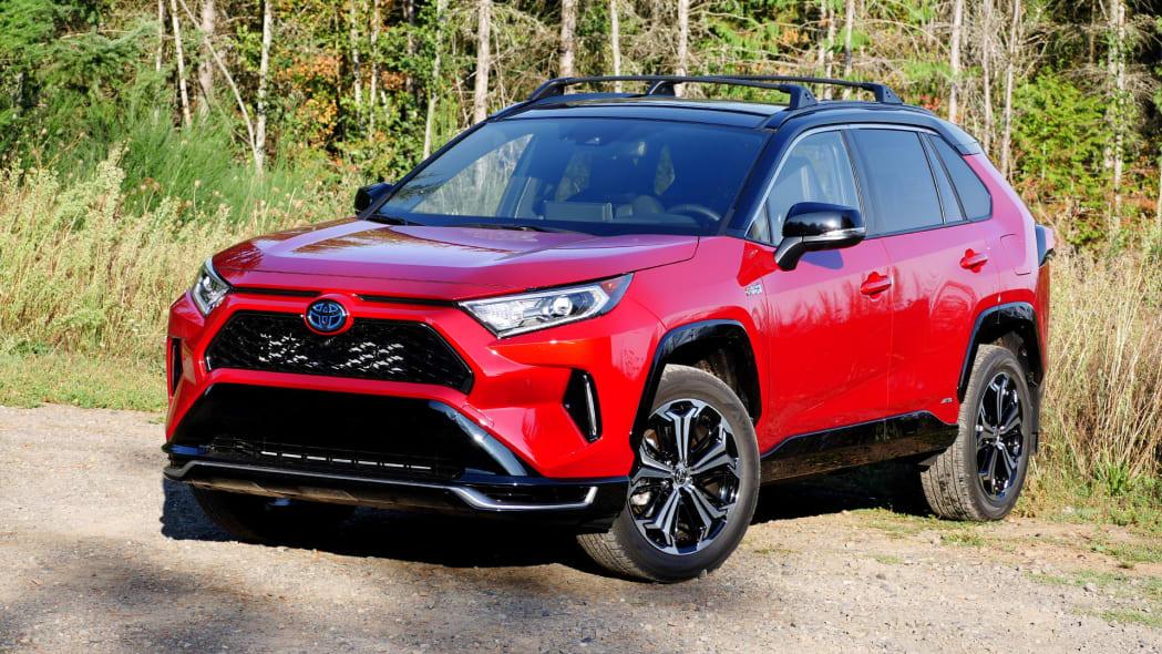 2021 Toyota RAV4 Prime top three quarter