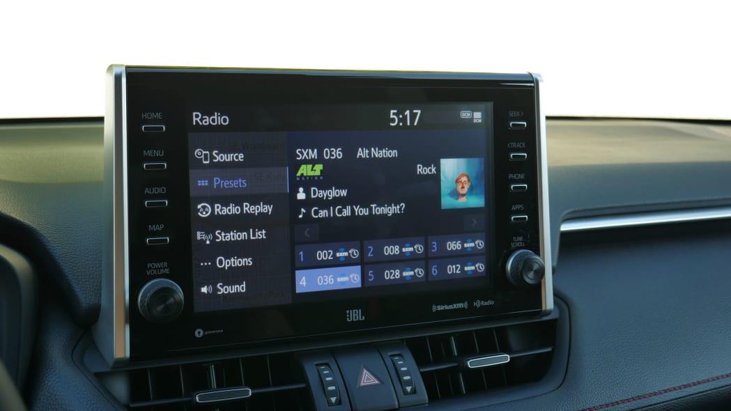 2021 Toyota RAV4 Prime touchscreen audio