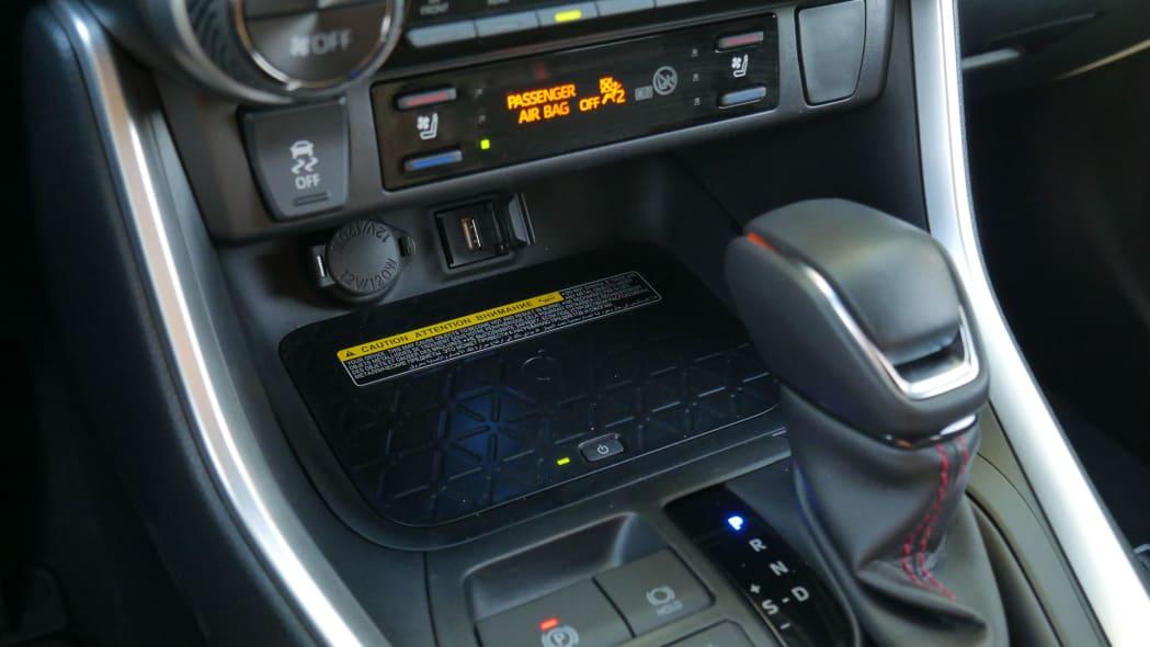 2021 Toyota RAV4 Prime wireless charging