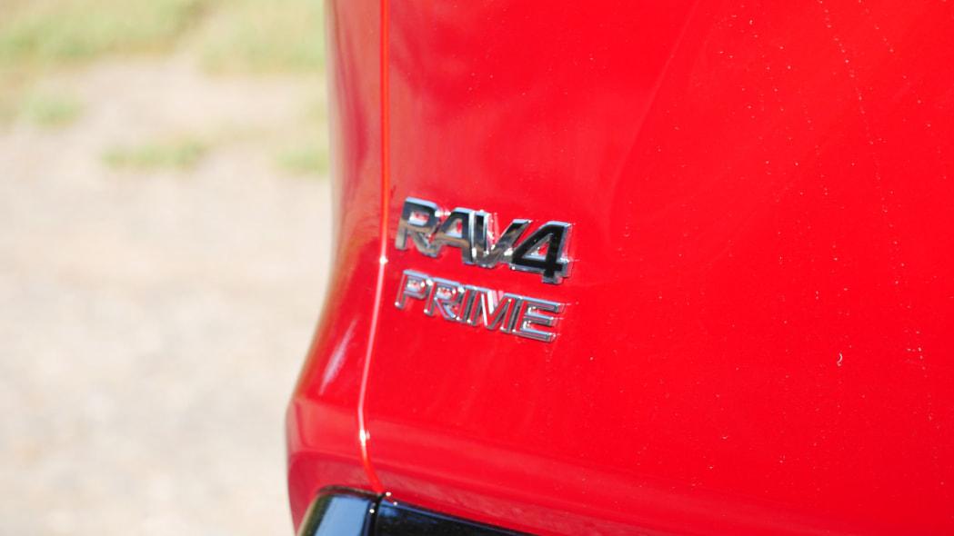 2021 Toyota RAV4 Prime badge