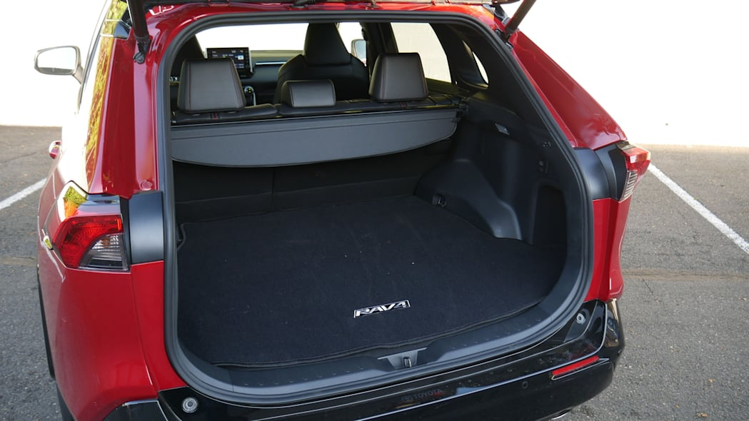 2021 Toyota RAV4 Prime cargo area