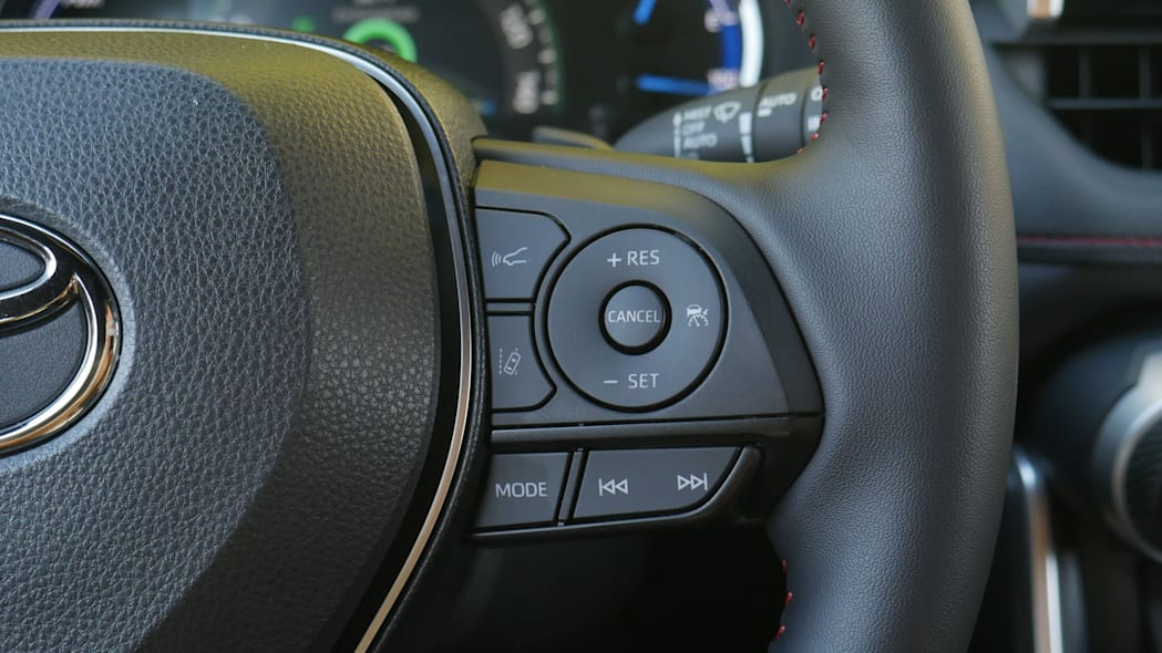 2021 Toyota RAV4 Prime cruise controls